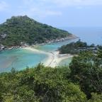 Koh Nang Yuan: playa, sendero y vistas de película